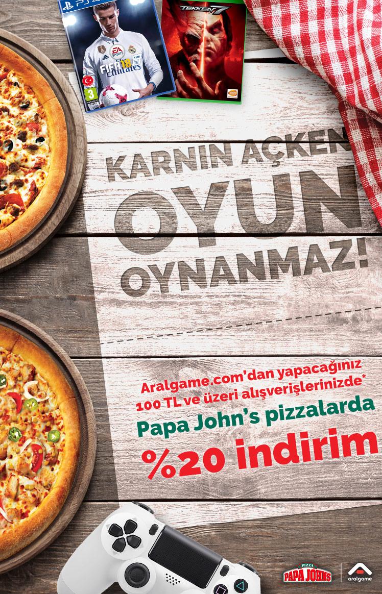 Papa John's Pizza Kampanyası