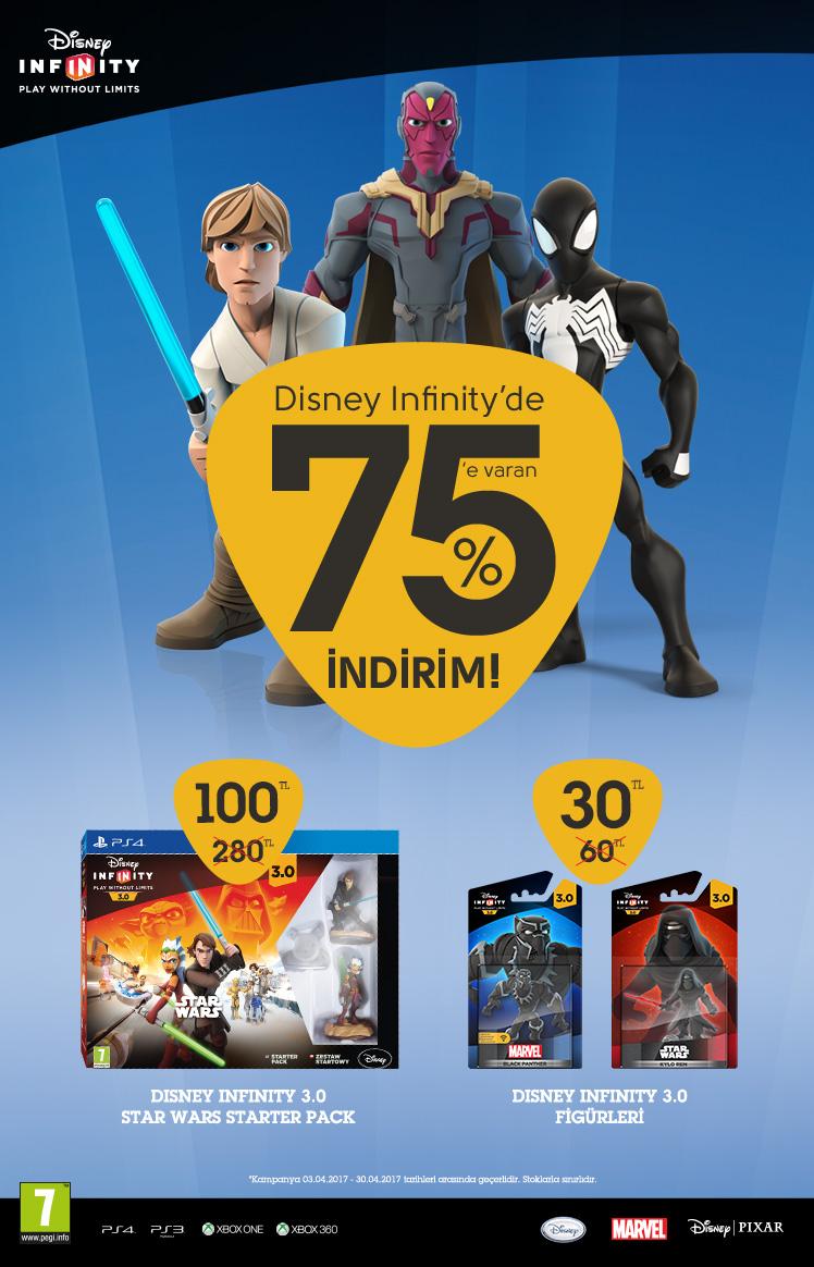 Disney Infinity Nisan kampanyası