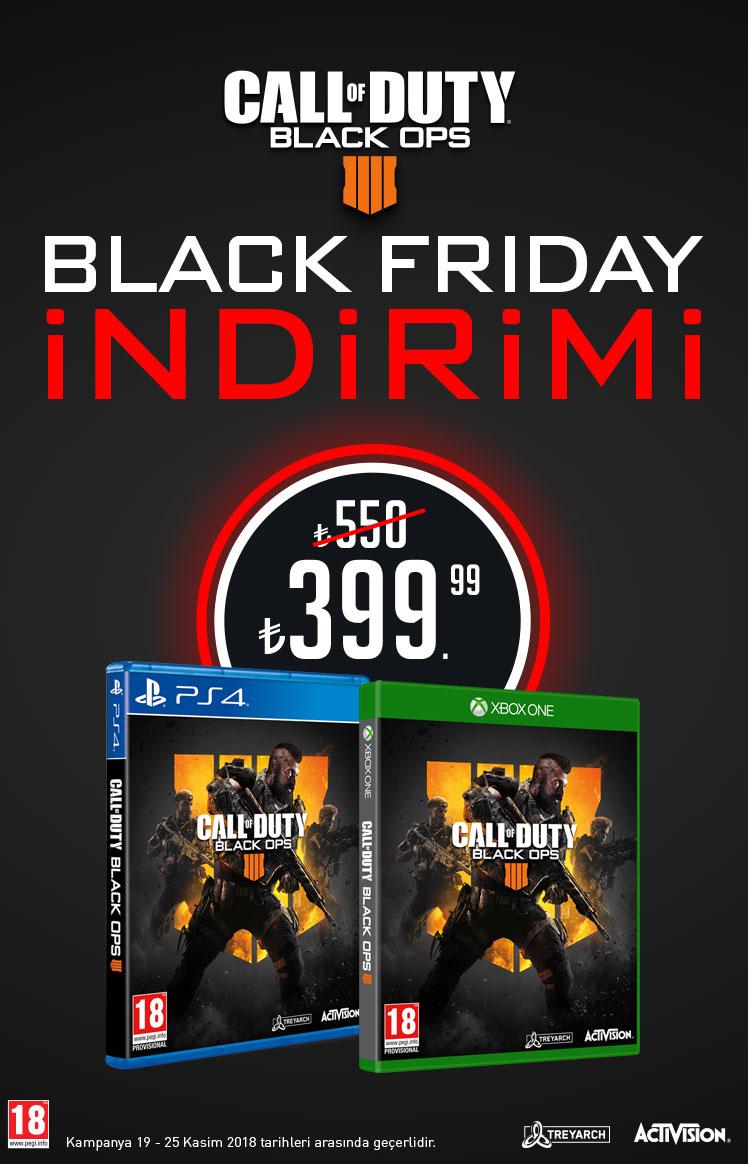 CoD Black Ops 4 Black Friday İndirimi