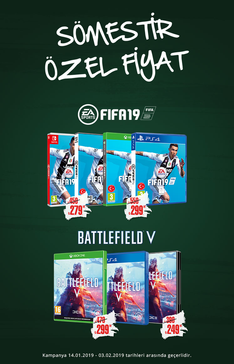 EA Sömestir Kampanyası