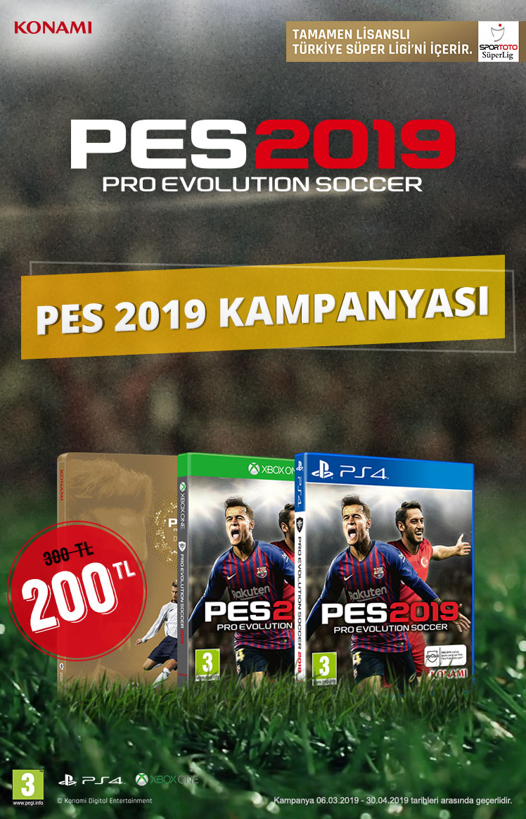 PES 2019 Kampanyası