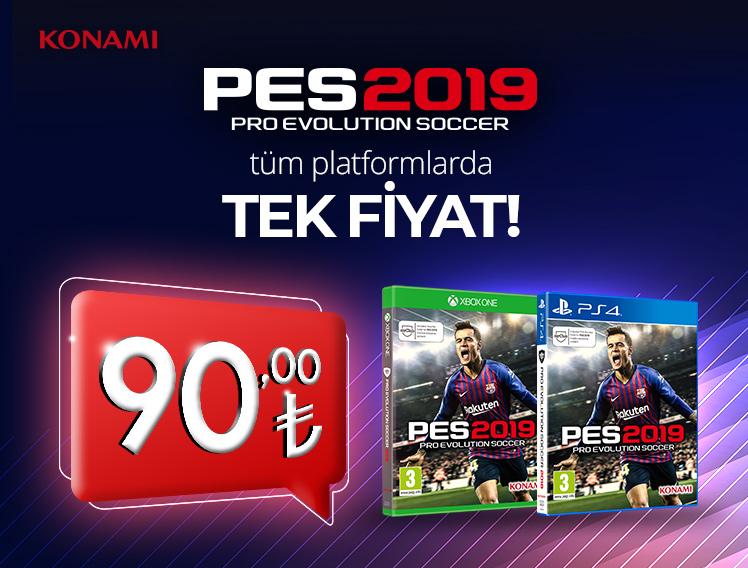 PES 2019 Tüm Platformlarda Tek Fiyat!