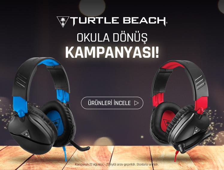 Turtle Beach Okula Dönüş Kampanyası