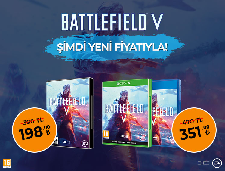 BATTLEFIELD V Şimdi Yeni Fiyatıyla!