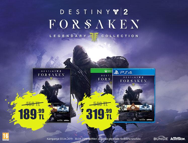 Destiny 2 Forsaken Legendary Edition Kampanyası