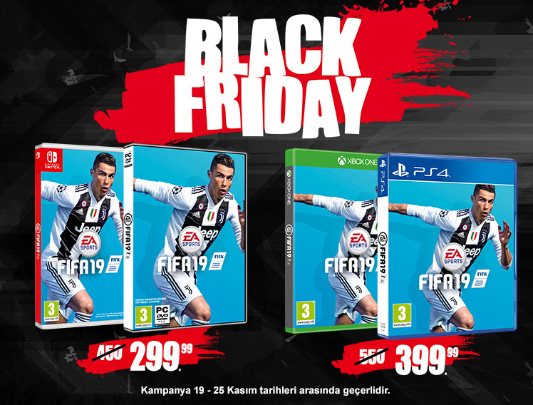 EA Black Friday Kampanyası