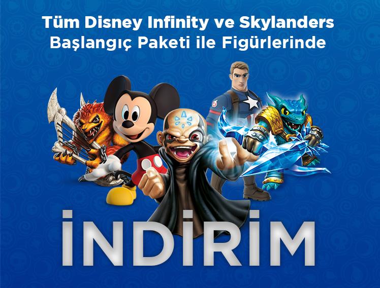 Disney Infinity ve Skylanders Ürünlerinde Büyük İndirim