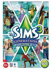 PC THE SIMS 3 GENERATIONS