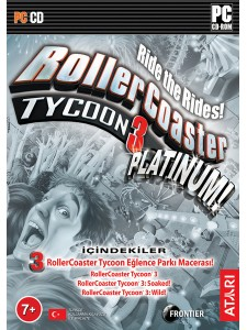 PC ROLLER COASTER TYCOON 3 PLATINIUM