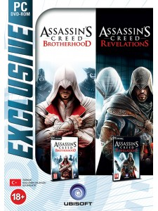 PC ASSASSINS CREED REVELATION + BROTHERHOOD