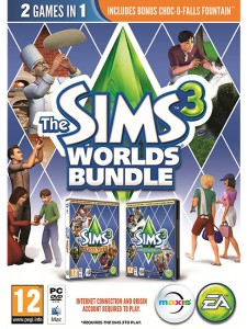 PC THE SIMS 3 WORLDS BUNDLE