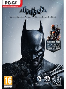 PC BATMAN ARKHAM ORIGINS LIMITED EDITION