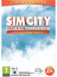 PC SIMCITY CITIES OF TOMORROW LIMITED EDITION