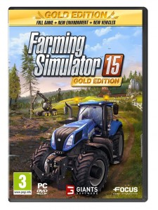 PC FARMING SIMULATOR 15 GOLD EDITION