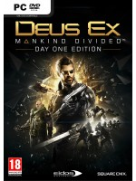 PC DEUS EX:MANKIND DIVIDED STEELBOOK EDT.