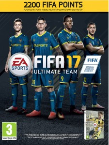 PC FIFA 17 2200 FIFA POINTS