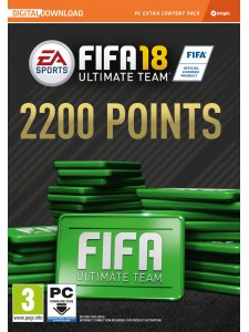 PC FIFA 18 2200 FUT POINTS