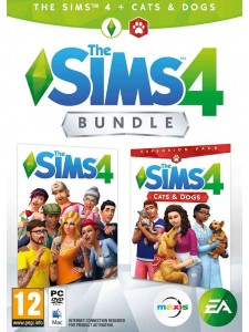 PC THE SIMS 4 + CATS&DOGS EKLENTİ BUNDLE PAKETİ