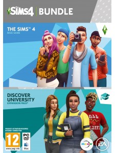 PC THE SIMS 4 ANA PAKET + DISCOVER UNIVERSITY