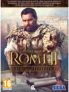 PC TOTAL WAR ROME II ENEMY AT THE GATES EDITION