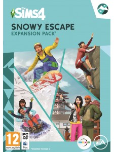 PC THE SIMS 4 SNOWY ESCAPE