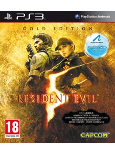 PSX3 RESIDENT EVIL 5 GOLD EDITION