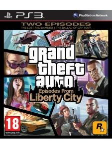 PSX3 GTA EPISODES FROM LIBERTY CITY