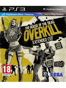 PSX3 HOUSE OF THE DEAD OVERKILL