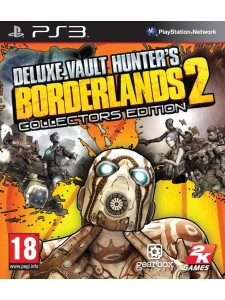 PSX3 BORDERLANDS 2 VAULT HUNTERS COLLECTORS ED.