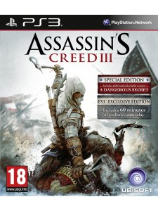 PSX3 ASSASSINS CREED III SPECIAL ED.