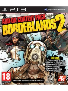 PSX3 BORDERLANDS 2 ADD ON CONTENT PACK