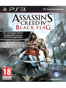PSX3 ASSASSINS CREED IV BLACK FLAG SPECIAL ED.