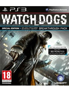 PSX3 WATCH DOGS SPECIAL ED.