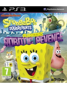 PSX3 SPONGEBOB SQUARE PANTS ROBOTIC REVENGE