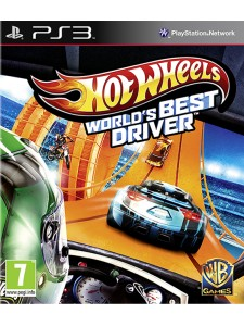 PSX3 HOT WHEELS WORLD'S BEST DRIVER