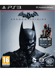 PSX3 BATMAN ARKHAM ORIGINS LIMITED EDITION
