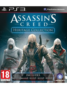 PSX3 ASSASSINS CREED HERITAGE COLLECTION