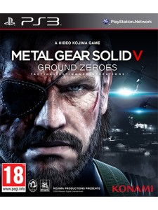PSX3 METAL GEAR SOLID V: GROUND ZEROES