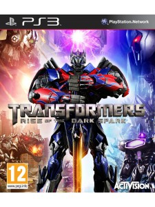 PSX3 TRANSFORMERS RISE OF THE DARK SPARK