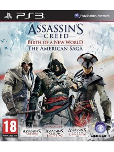 PSX3 ASSASSINS CREED AMERICAN SAGA