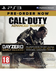 PSX3 CALL OF DUTY ADVANCED WARFARE DAY ZERO