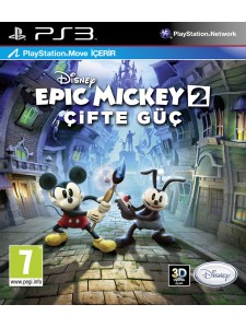 PSX3 DISNEY EPIC MICKEY 2