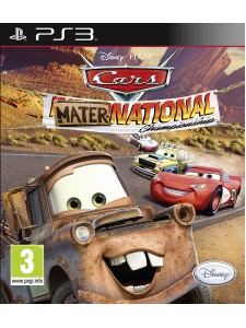 PSX3 CARS MATER INTERNATIONAL