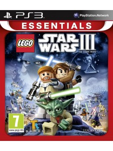 PSX3 DISNEY LEGO STAR WARS III THE CLONE WARS