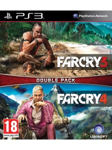 PSX3 FAR CRY DOUBLE PACK