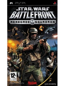 PSP STAR WARS BATTLEFRONT RENEGADE SQUADRON