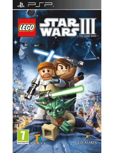 PSP LEGO STAR WARS 3 THE CLONE WARS