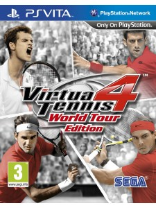 PSVITA VIRTUA TENNIS 4 WORLD TOUR