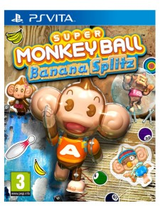 PSVITA SUPER MONKEY BALL BANANA SPLITZ