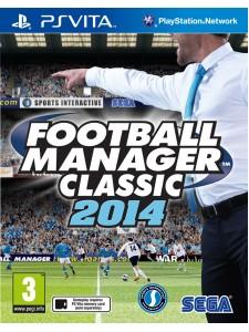 PSVITA FOOTBALL MANAGER CLASSIC 2014